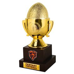 NFL Chicago Bears 1 Fan Trophy Blue *** Check this awesome product by going to the link at the image.