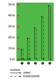 Aumentare la Resistenza e la Velocità Soccer Training Drills, Ladder Workout, Football Workouts, Soccer Practice, Weight Training Workouts, Abs Workout For Women, Sports, Warming Up, Soccer