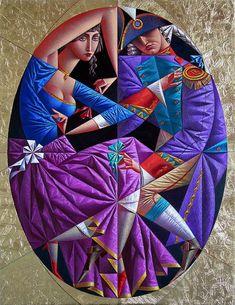 (+4) Соблазнительные формы кубизма: красочные картины Георгия Курасова
