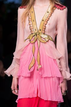 thefabuleststp:  Details at Gucci for Spring 2016