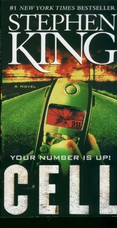 "Read ""Cell A Novel"" by Stephen King available from Rakuten Kobo. From international bestseller Stephen King, a high-concept, ingenious and terrifying story about the mayhem unleashed wh. I Love Books, Great Books, Books To Read, Amazing Books, Terrifying Stories, Stephen King Novels, Steven King, Horror Books, Horror Movies"