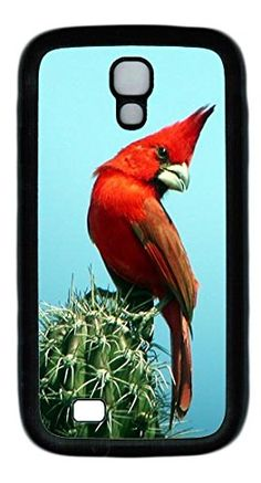 Vermilion Cardinal DIY Rubber Black Best Personality Samsung Galaxy S4 I9500 Case lovely case http://www.amazon.com/dp/B00QJS3D2Y/ref=cm_sw_r_pi_dp_qM2Mub1T1C860