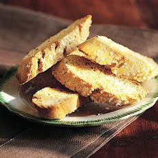 Anise BiscottiAnise Biscotti -- easy, look dressy, and not as heavy as other holiday cookies. Biscotti Anise, Biscotti Cookies, Soft Biscotti Recipe, Anise Cookies, Cake Cookies, Italian Cookies, Italian Desserts, Italian Recipes, Crack Crackers