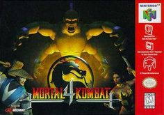 Mortal Kombat 4 - N64 Game More Games, Fun Games, Games To Play, Awesome Games, Nintendo 64 Games, Nintendo Sega, Playstation, 3d Realms