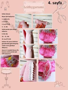 Amigurumi Unicorn Türkçe tarif - Design By Diana Patskun - Puffy Angel Crochet Horse, Crochet Animals, Crochet Dolls, Amigurumi Toys, Free Pattern, Diy And Crafts, Pony, Diana, Design