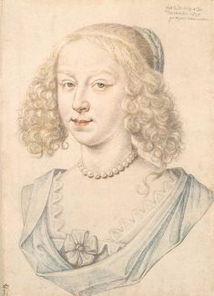 Portrait of a Woman, 1626-46 by Daniel Dumoustier