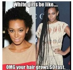 I've had this happen to me when ever I get braids!