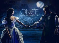 Awesome young Regina and Robin on an awesome Once poster