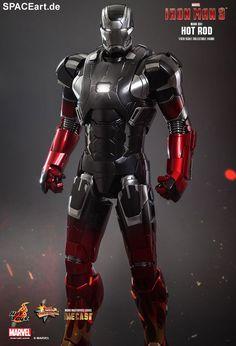 Iron Man 3: Mark XXII - Hot Rod, Voll bewegliche Deluxe-Figur ... https://spaceart.de/produkte/irm009.php