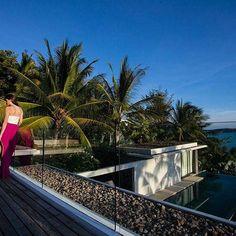 Villa 16 - 4 Bedroom - Samujana Villas, Koh Samui - Book Now Koh Samui, Tropical Garden, Luxury Villa, Paradise, Mansions, Bedroom, House Styles, Design, Room