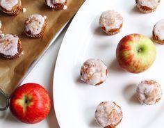 Apfel-Zimt-Muffins mit Glasur ~ Apple-Cinnamon-Cupcakes with glaze