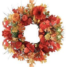 Found it at Joss & Main - Preserved Poppy Wreath