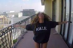 VINMIX SHOP — #BEYONCES KALE CREWNECK SWEATSHIRT | 711 VIDEO. Beyonces style, Beyonces Kale sweatshirt, beyonce quotes, beyonce hair, beyonce body, beyonce video, 711 video