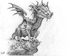 European Dragon by SilverNight1996