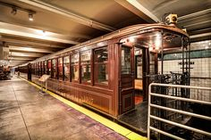 www.insidebusinessnyc.com/new-york-transit-museum/ - See the Google Virtual Tour for New York Transit Museum. #NY #MTA #NYC