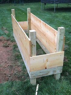 How To Build a Raised Garden Bed #diygardening #gardening #raisedgardenbed #vegetableplanters