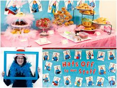 Dr. Seuss photo booth.