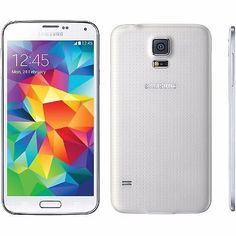 New Samsung Galaxy S5 SM-G900T - 16GB - Shimmery White (T-Mobile) Smartphone