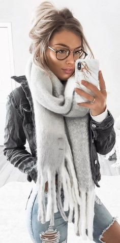 45 Cute Winter Outfits Perfect for You / 07 # . - - Accessoires Schmuck 45 Cute Winter Outfits Perfect for You / 07 # … Winter Outfits For Teen Girls, Cute Winter Outfits, Spring Outfits, Winter Scarf Outfit, College Winter Outfits, Black Jeans Outfit Winter, Winter Outfits 2019, Comfortable Winter Outfits, Cosy Outfit