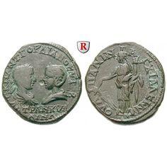 Römische Provinzialprägungen, Thrakien, Anchialos, Gordianus III., Bronze 238-244, ss+: Thrakien, Anchialos. Bronze 26 mm 238-244.… #coins