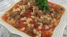 Recipes Good Food: Italian Beef Barley Soup
