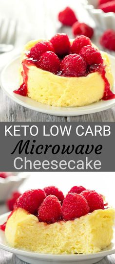 Keto Low Carb Microwave Cheesecake - Low Carb Keto - Ideas of Low Carb Keto - Low Carb Keto Microwave Cheesecake. This single serving cheesecake is quick and easy and cooks in two minutes. Low Carb Sweets, Low Carb Desserts, Healthy Desserts, Low Carb Recipes, Dessert Recipes, Keto Snacks, Dishes Recipes, Eat Healthy, Free Recipes