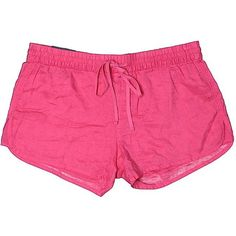 Gap Shorts (€11) ❤ liked on Polyvore featuring shorts, pink, rayon shorts, gap shorts and pink shorts