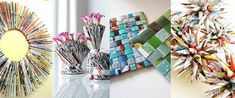 DIY Ideas: Best Recycled Magazines Projects | product design post of the week decorations  | projects product magazine diy ideas diy decorations