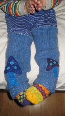 adorable leg warmers