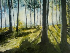 View Toward Gulf Of Finland Painting