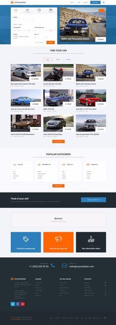 Car Classifieds Website Builder for Joomla