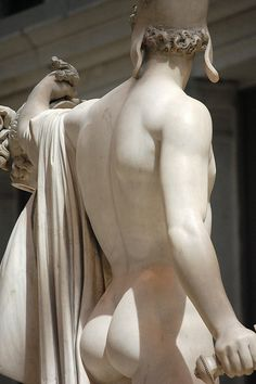 Antonio Canova - Perseus and Medusa back right torso, Metropolitan Museum of Art