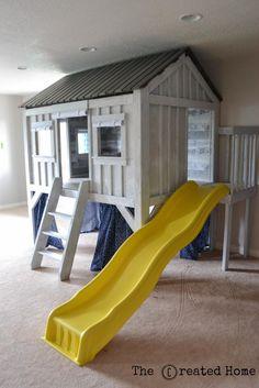 Restoration Hardware Cabin Inspired Playhouse