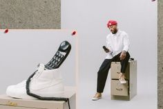 The NikeLab Blazer Studio Gets Styled in Business Casual-Inspired Editorial | Highsnobiety