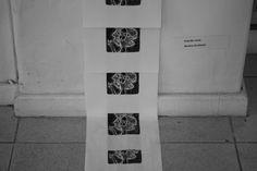 Boneca de Planos exposta na Xilográficos,   Galeria Álvaro Santos   (de 6 de nov -1 de dez)