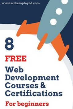Learning Web Development is not as difficult as it sounds. Here are 8 free online Web Development courses and certifications for beginners, that can make you from zero to hero. Design Websites, Online Web Design, Website Design Services, Web Design Tips, Web Design Company, Web Design Classes, Layout Design, Web Layout, Design Trends