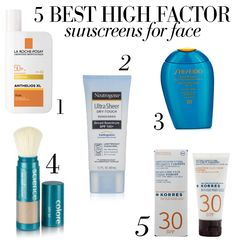 5 Best High Factor Sunscreens for Face: Sunscreen is your best bet against premature ageing and dark spots...