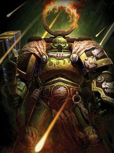 Warhammer 40k Tactical Objective Silver Acrylic Salamanders Empire
