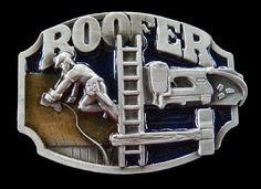 ROOFER BELT BUCKLE CONSTRUCTION WORKER TOOL EQUIPMENT PROFESSION BOUCLE CEINTURE   eBay #roofer #rooferbeltbuckle #rooferbuckle #roofworker #beltbuckle #construction #beltbuckle #buckles