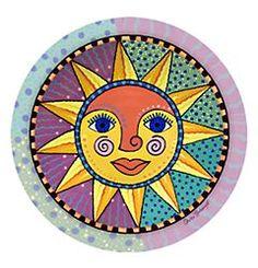 ☮ American Hippie Art ~ Sun