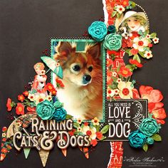 Designs by Robin: All You Need is Love and a Dog