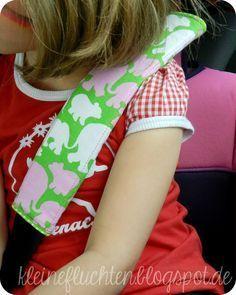 Gurtpolster für Kinder - Kleine Fluchten: Besser spät als nie