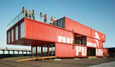 Colegio de Arquitectos de Ushuaia, Tierra del Fuego, Patagonia Argentina - Restauración y Remodelación: Los contenedores de LOT-EK