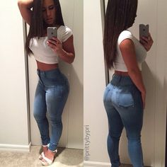 #ShareIG She look good in them jeans #fashion #fitness #followUs #SexyAndFit #bookAshoot #modeling #moneyShot #sexyAssBody#sheStrapped#badbitchesonly #workout #webpick #fitness #IMWTcertified