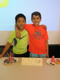 It's almost lunch time folks, and we are hungry! Another photo from Lake Travis Community Library's Jr. Chef Challenge.