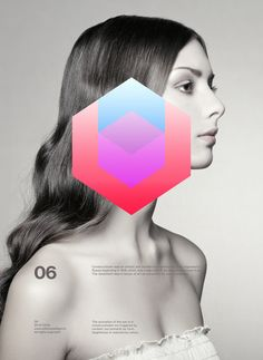 I like this for a cover of a magazine...Metode - Part1 by Anthony Neil Dart, via Behance