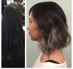 Grey Ombre by Jonathan, Cut and Style by Abel. Balayage, Costa ...