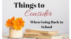 Hoping you'll love this post... Things To Consider When Going Back to School  http://www.highheelsandhomework.com/things-consider-going-back-school/?utm_campaign=crowdfire&utm_content=crowdfire&utm_medium=social&utm_source=pinterest