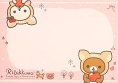 Kawaii memo paper - Rilakkuma Christmas Memo Template, Templates, Memo Notepad, Simple Artwork, Cute Letters, Kawaii Stationery, Rilakkuma, Note Paper, Planner Stickers