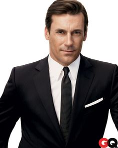 Mad Men in GQ: January Jones, Jon Hamm, John Slattery, and Jessica Pare: Movies + TV: GQ